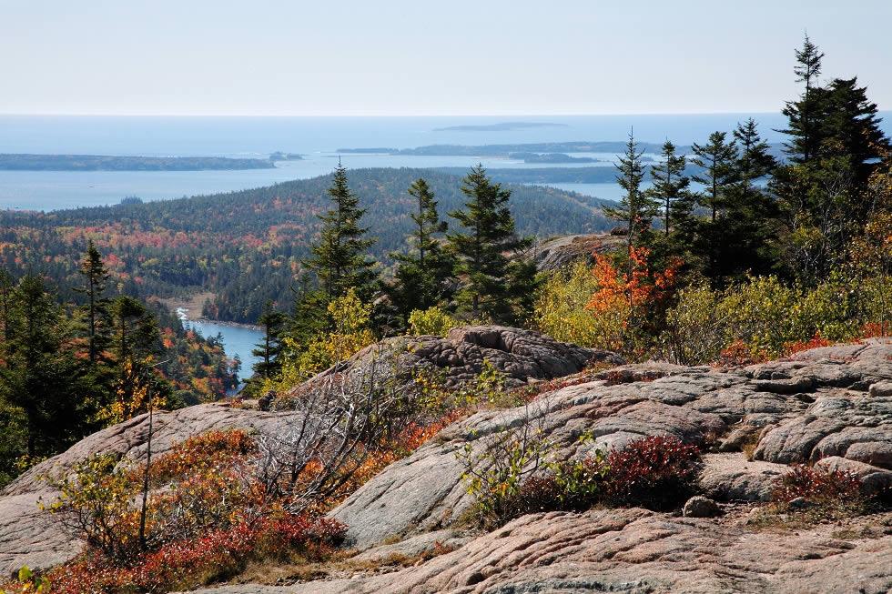 Parque Naciona Acadia no Maine