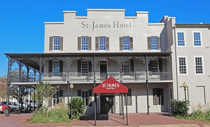 Hotel St. James Alabama