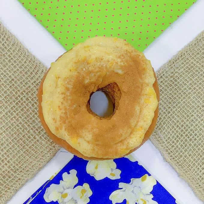 Donuts de milho verde mister donuts